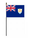 Anguilla Country Hand Flag - Small